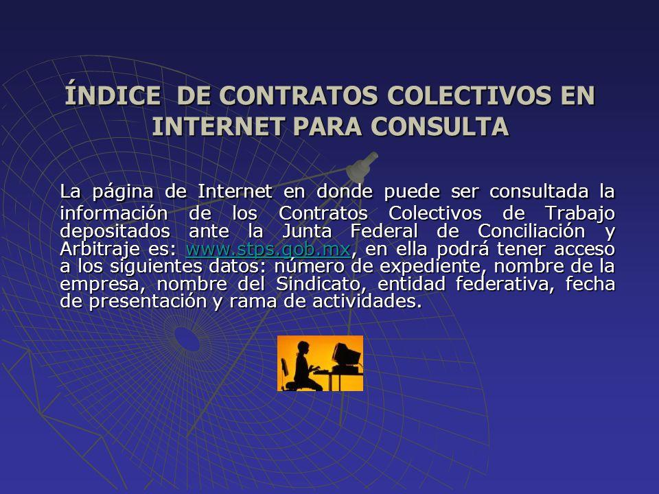 OBJETIVOS 1.- Transparentar la Contratación Colectiva de competencia Federal.