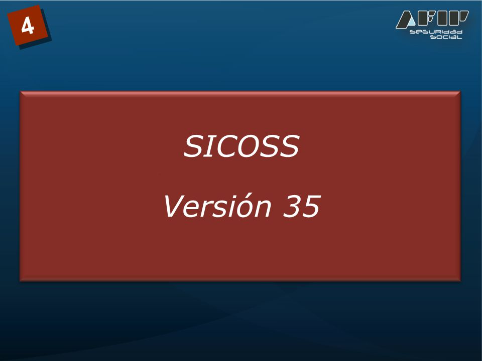 4 SICOSS Versión 35
