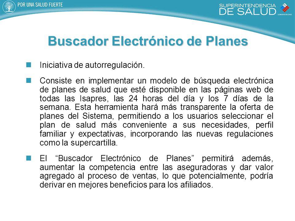 Buscador Electrónico de Planes Iniciativa de autorregulación.