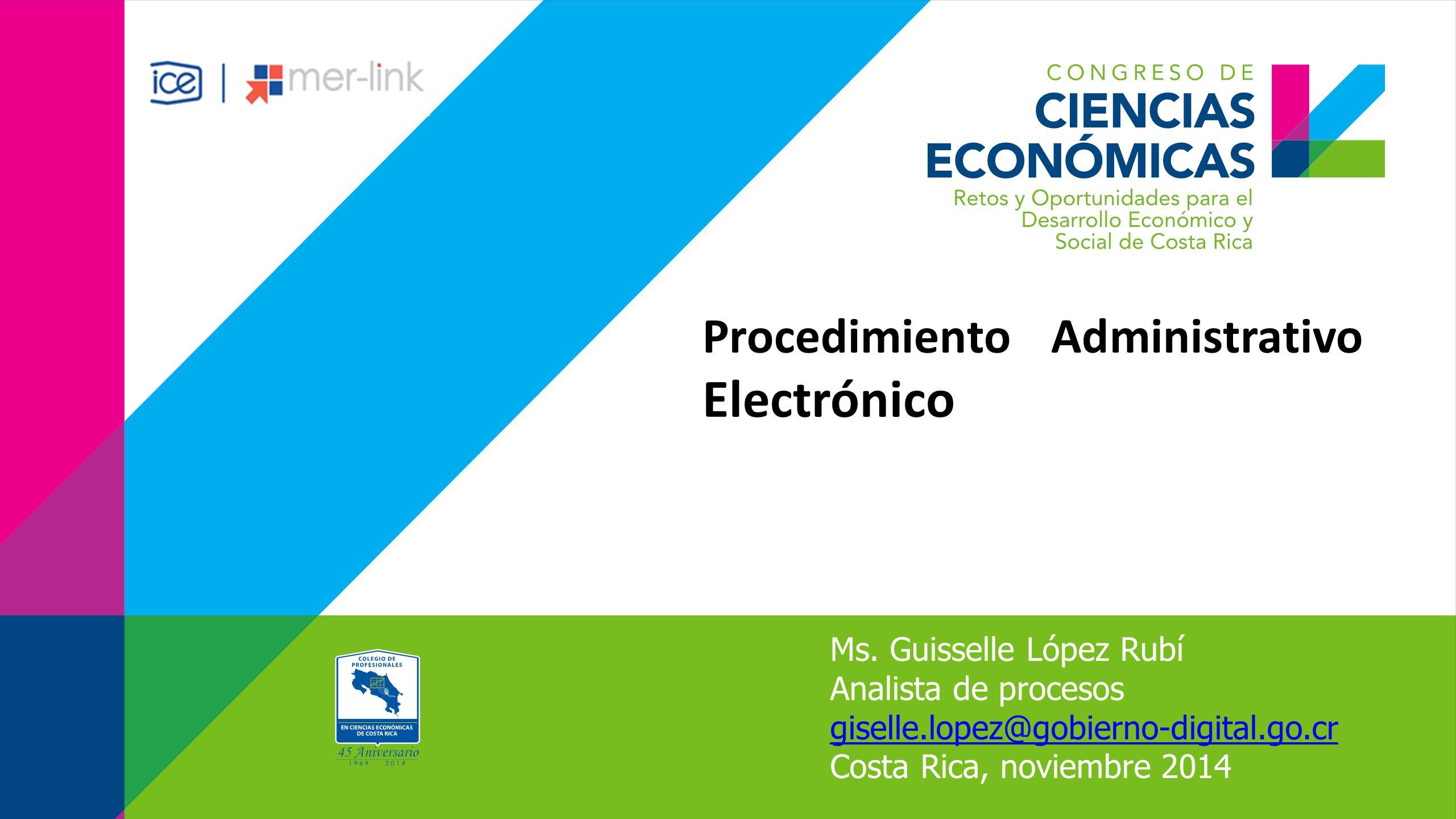 Procedimiento Administrativo Electrónico Ms.
