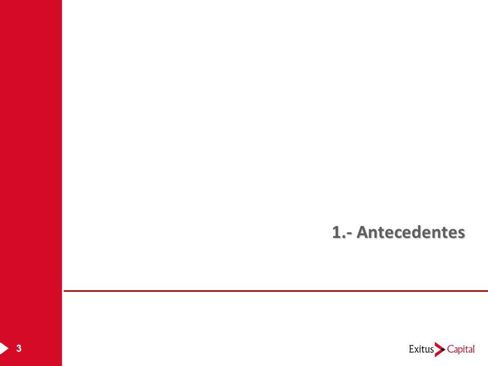 3 1.- Antecedentes