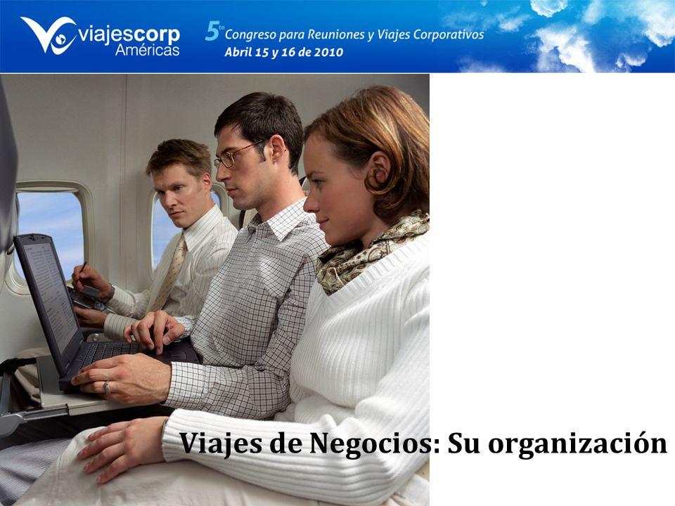 Viajes de Negocios: Su organización