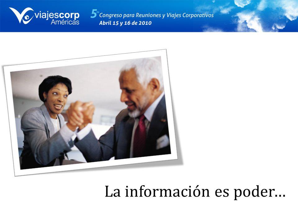 La información es poder…