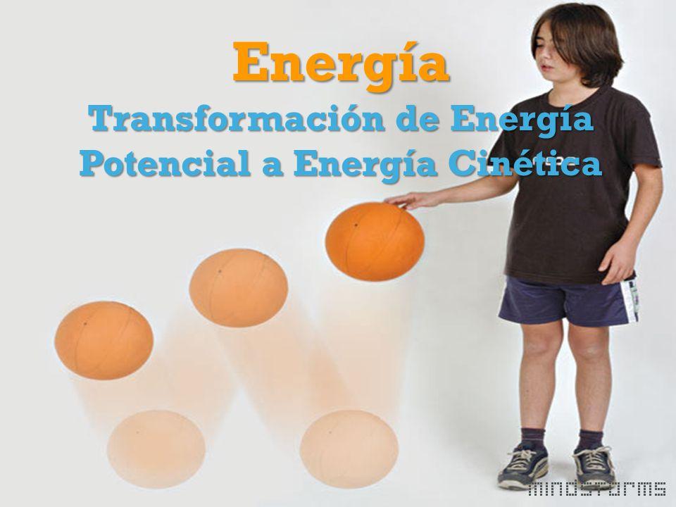 Energía Transformación de Energía Potencial a Energía Cinética