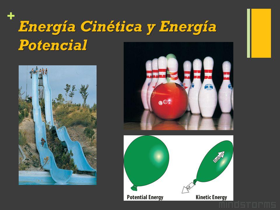 + Energía Cinética y Energía Potencial