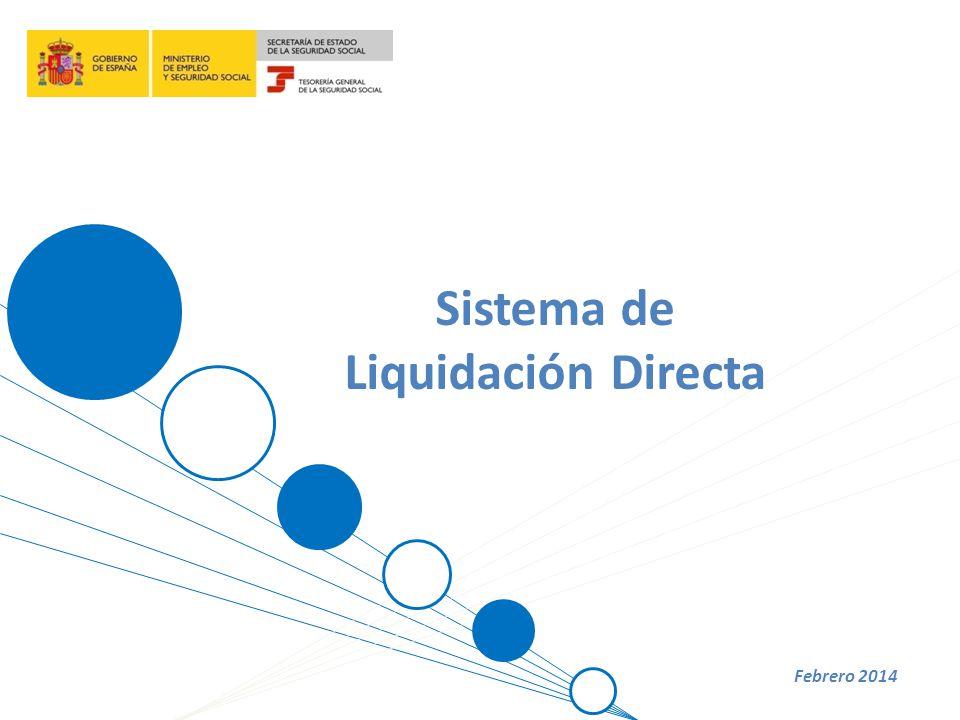 Sistema de Liquidación Directa Febrero 2014