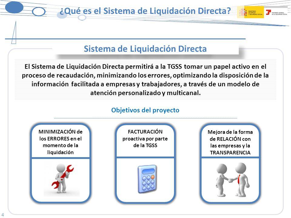 4 ¿Qué es el Sistema de Liquidación Directa.
