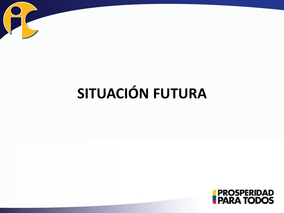 SITUACIÓN FUTURA