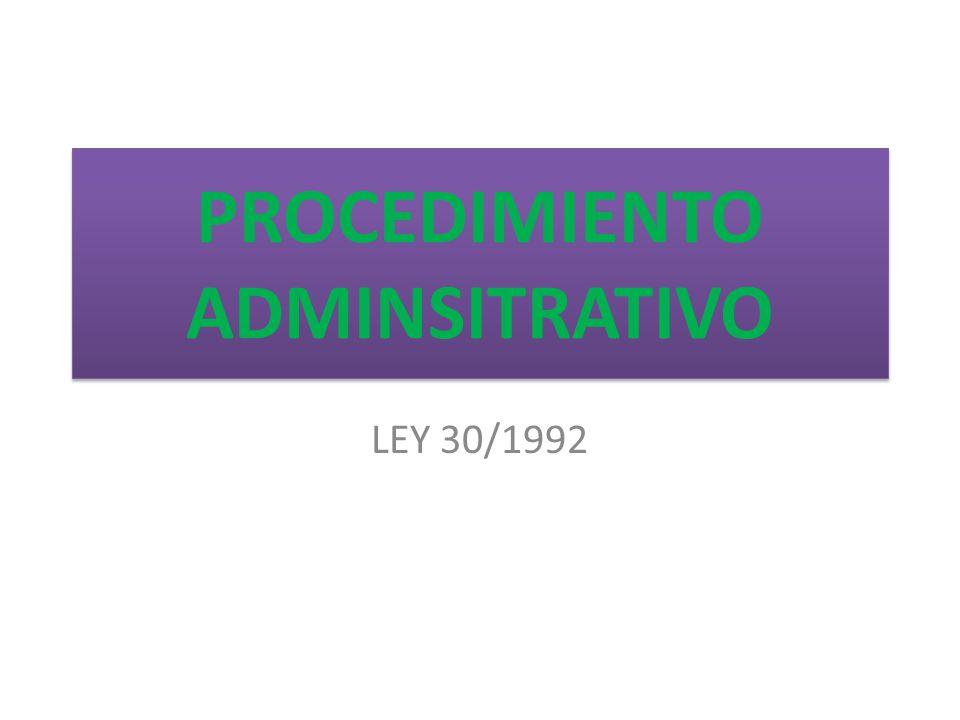 ley 30 1992 26 noviembre regimen juridico administraciones publi: