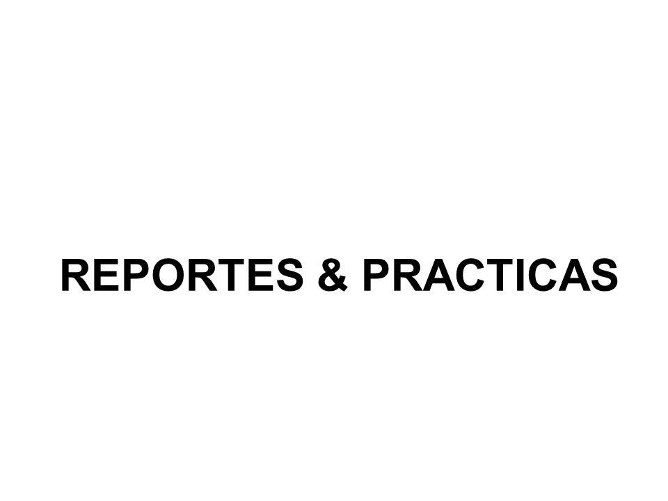 REPORTES & PRACTICAS