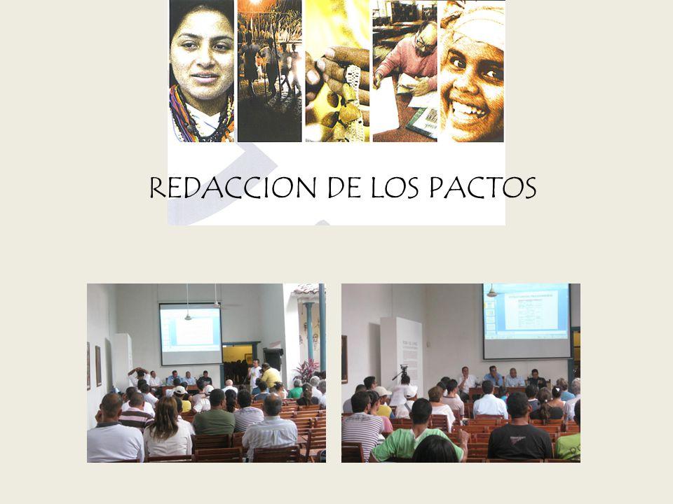REDACCION DE LOS PACTOS