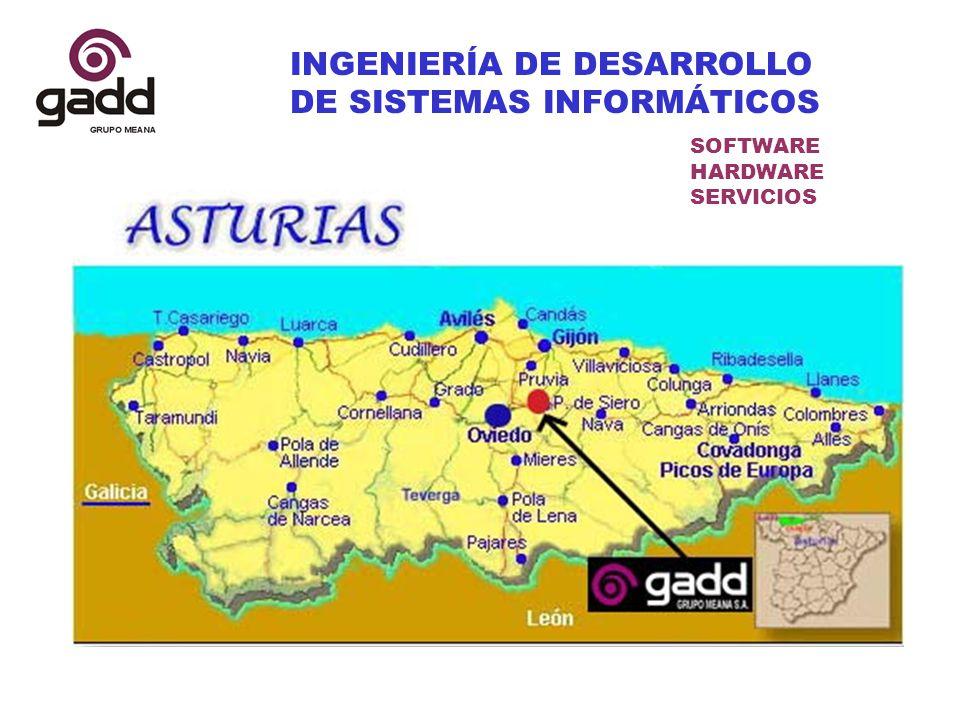 INGENIERÍA DE DESARROLLO DE SISTEMAS INFORMÁTICOS SOFTWARE HARDWARE SERVICIOS