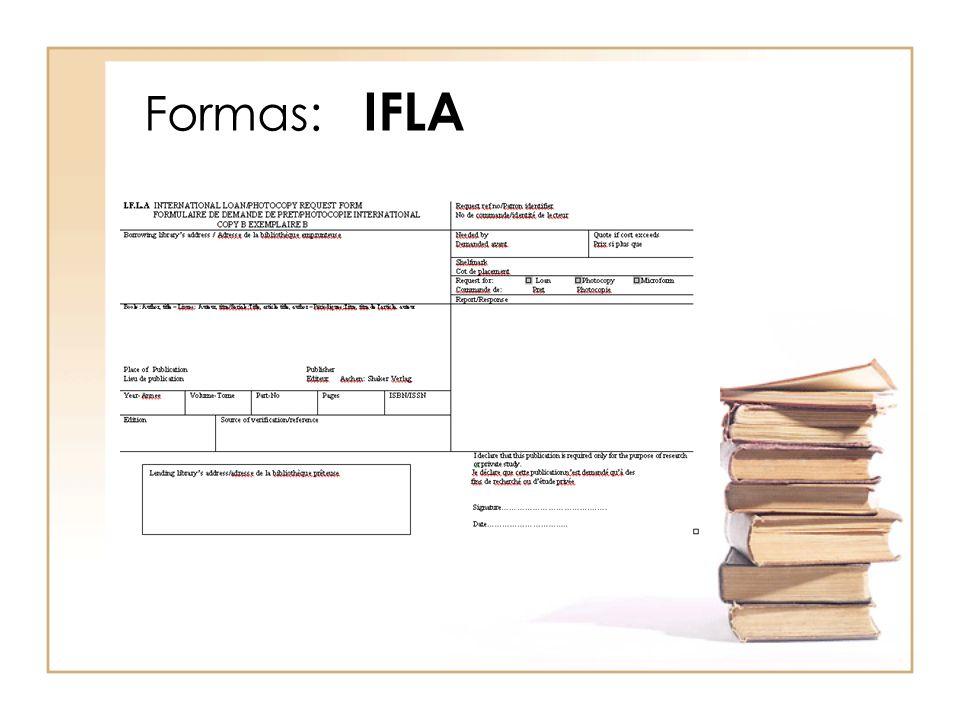 Formas: IFLA