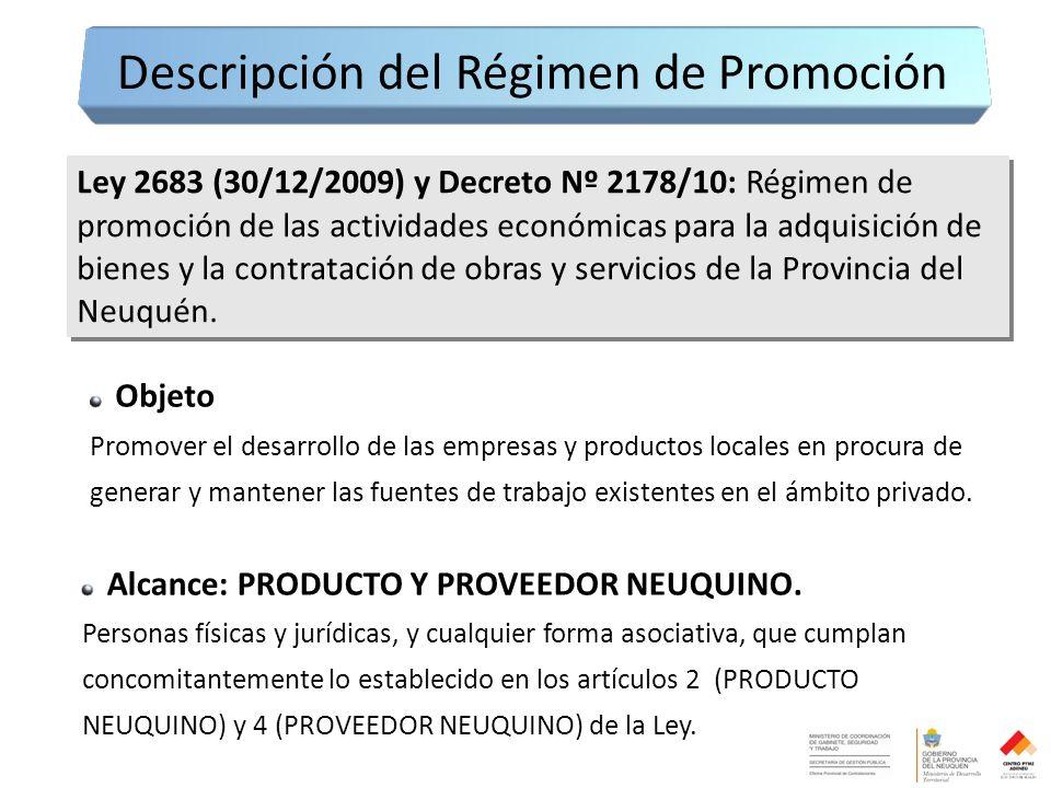 Objeto Promover el desarrollo de las empresas y productos locales en procura de generar y mantener las fuentes de trabajo existentes en el ámbito privado.