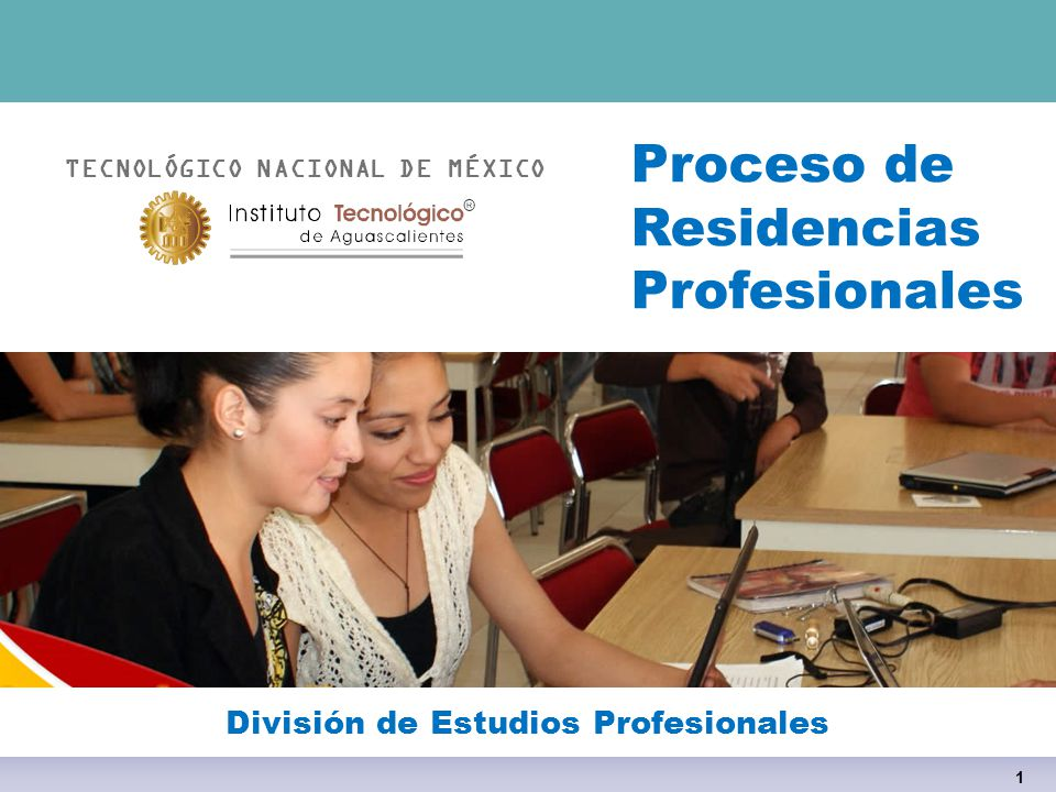 Proceso de Residencias Profesionales División de Estudios Profesionales TECNOLÓGICO NACIONAL DE MÉXICO 1