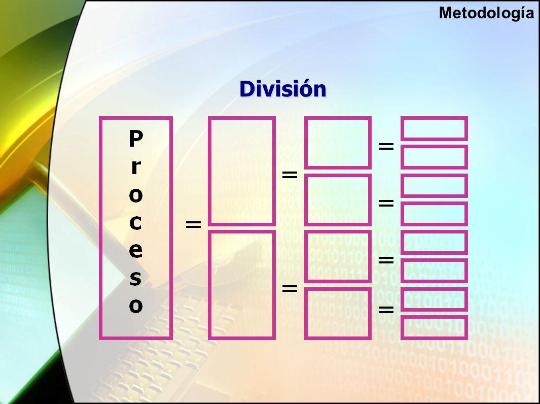 División Metodología