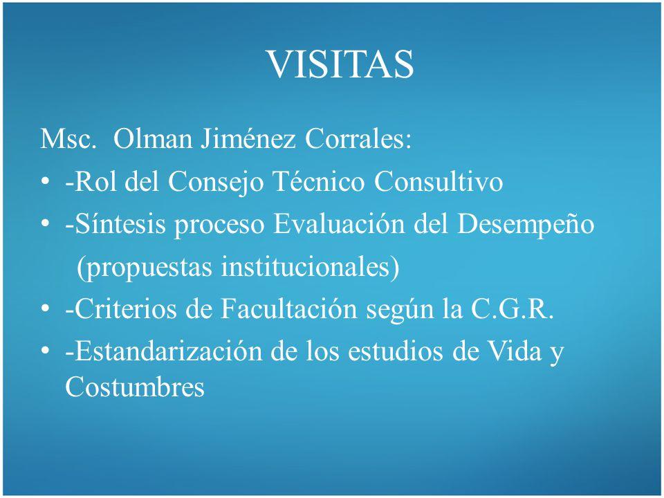 VISITAS Msc.