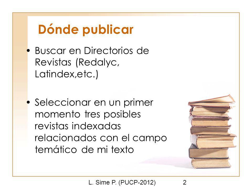 L. Sime P.