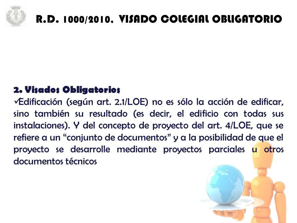 2. Visados Obligatorios Edificación (según art.