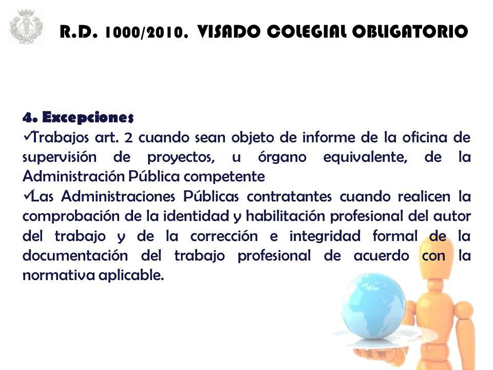 4. Excepciones Trabajos art.