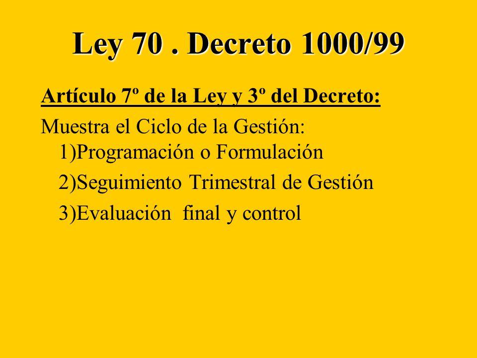 Ley 70.