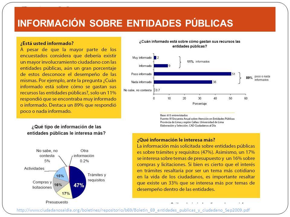 Project Management INFORMACIÓN SOBRE ENTIDADES PÚBLICAS http://www.ciudadanosaldia.org/boletines/repositorio/b69/Boletin_69_entidades_publicas_y_ciudadano_Sep2009.pdf