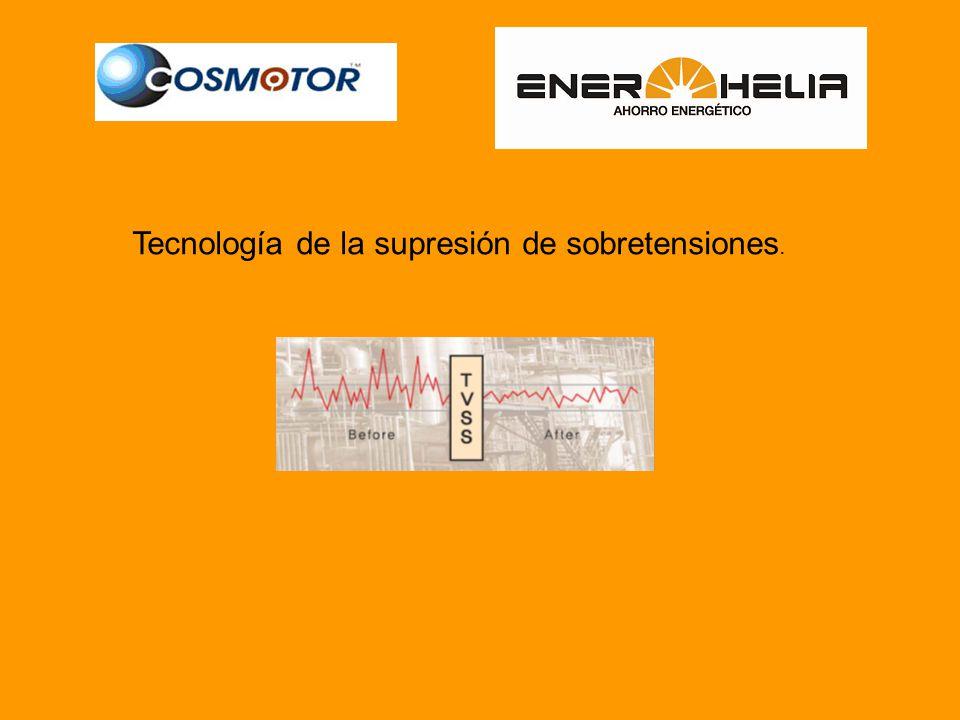 Tecnología de la supresión de sobretensiones.