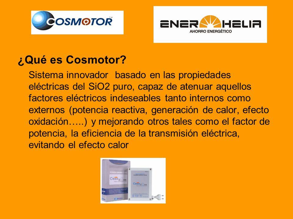 ¿Qué es Cosmotor.