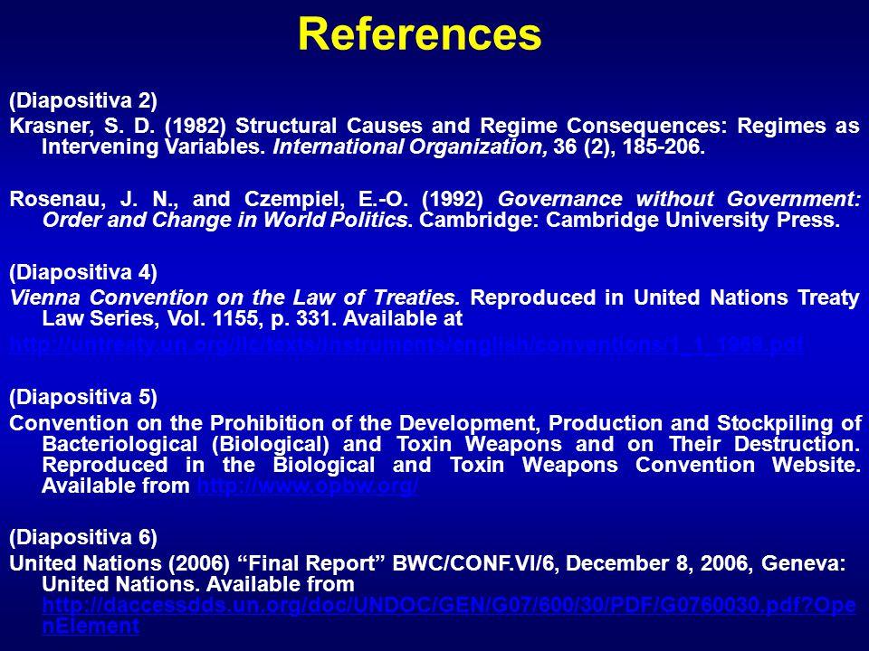 References (Diapositiva 2) Krasner, S. D.