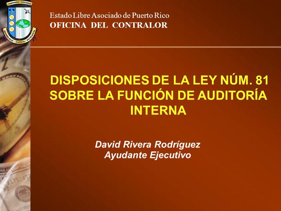 DISPOSICIONES DE LA LEY NÚM.