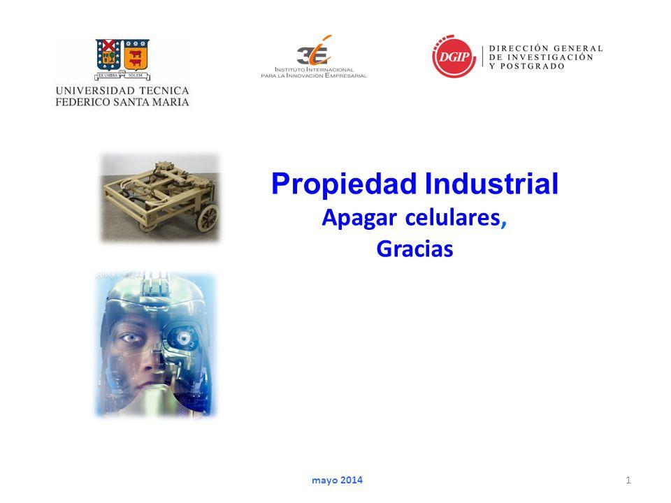 1 mayo 2014 Propiedad Industrial Apagar celulares, Gracias