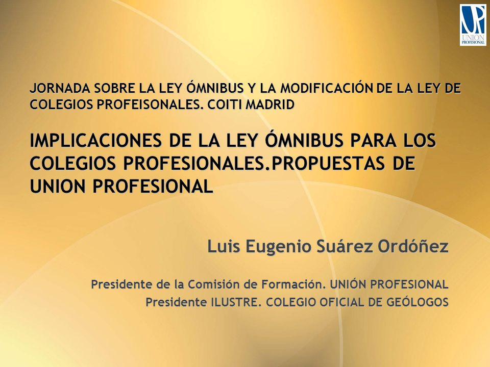 JORNADA SOBRE LA LEY ÓMNIBUS Y LA MODIFICACIÓN DE LA LEY DE COLEGIOS PROFEISONALES.