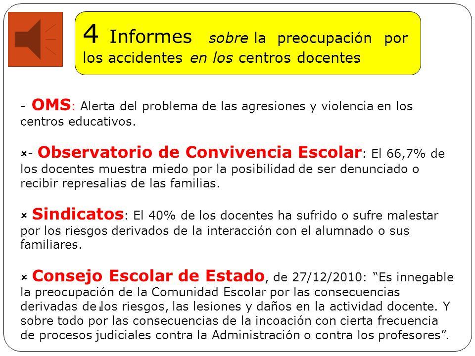 Diagnóstico P reocupa y ocupa a profesores, claustros, sindicatos, Fiscales, Administraciones Educativas, Consejos Escolares, etc.