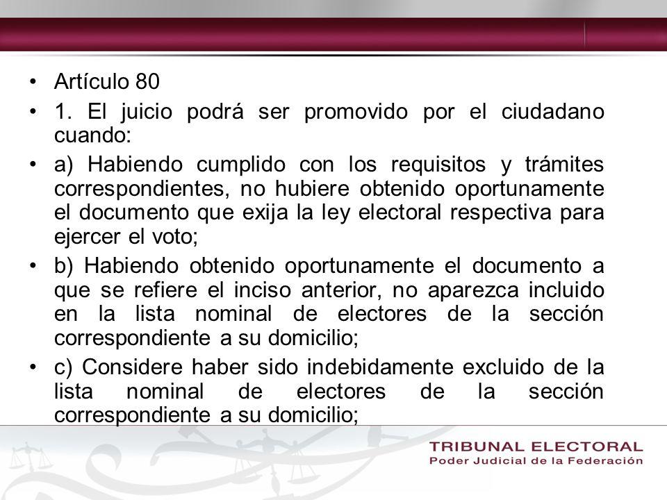 Artículo 80 1.