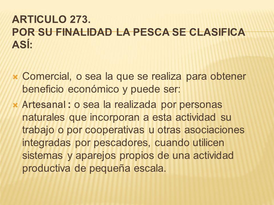 ARTICULO 273.