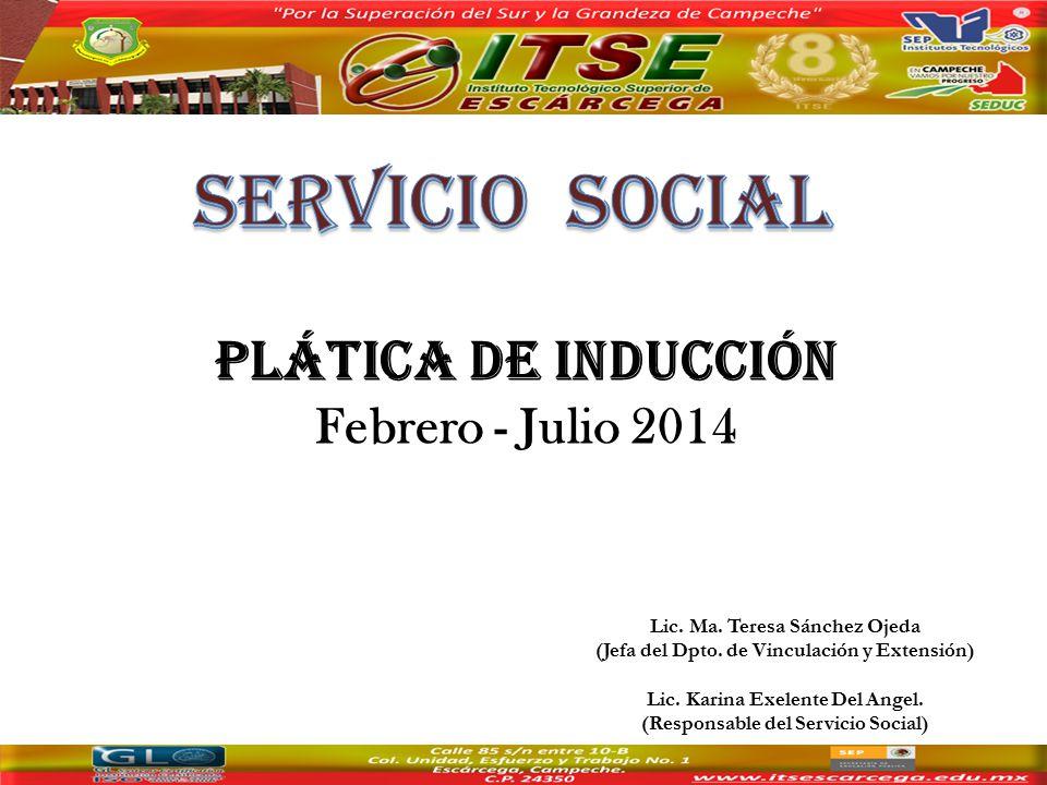 Lic. Ma. Teresa Sánchez Ojeda (Jefa del Dpto. de Vinculación y Extensión) Lic.