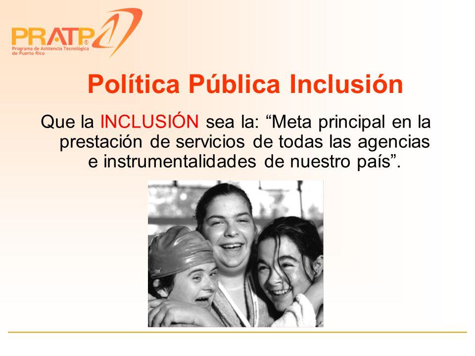 ® Ley Núm. 238 del año 2004 Carta de Derechos de las Personas con Impedimentos 31 de agosto de 2004