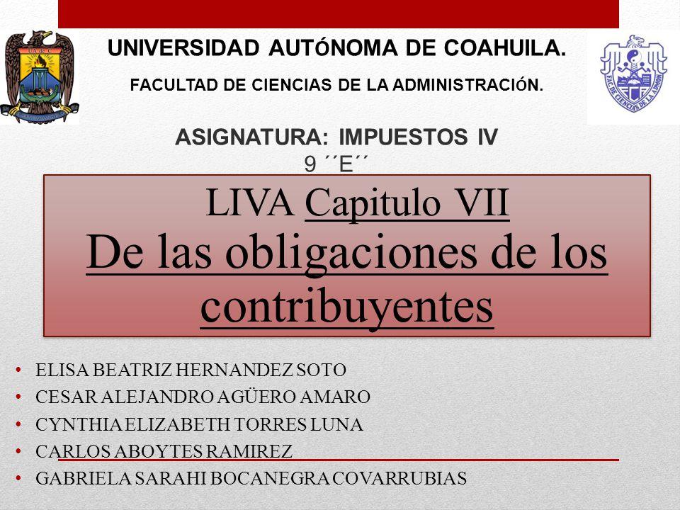 UNIVERSIDAD AUT Ó NOMA DE COAHUILA. FACULTAD DE CIENCIAS DE LA ADMINISTRACI Ó N.