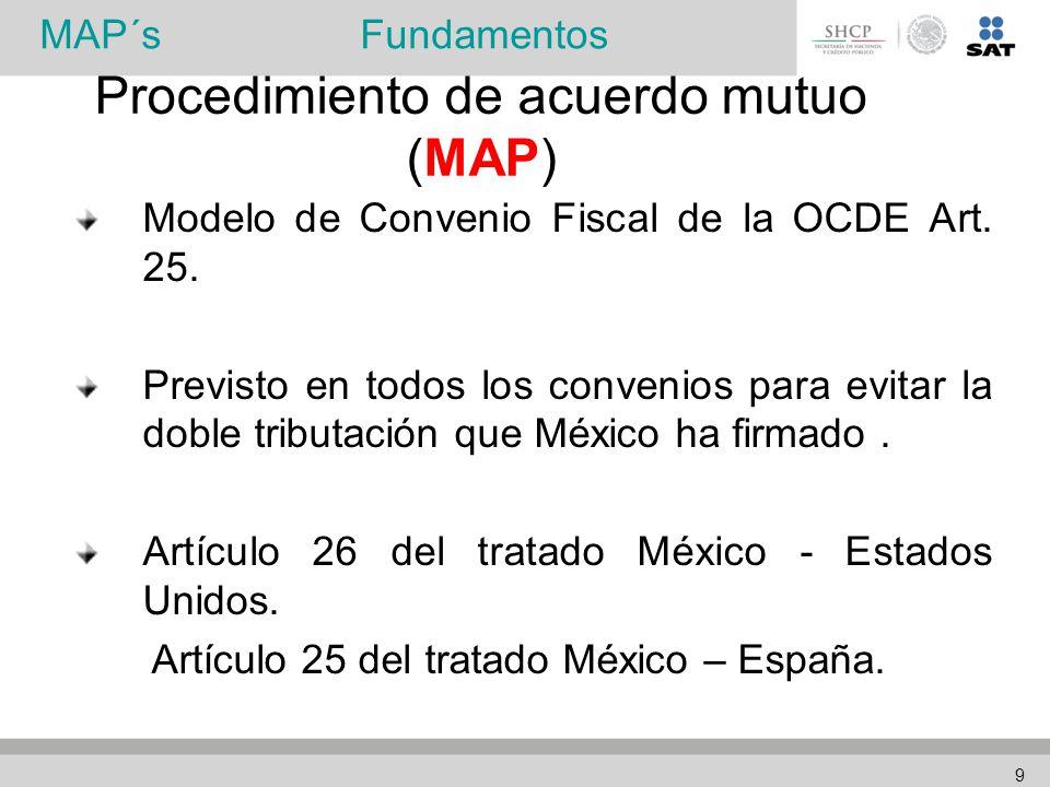 Modelo de Convenio Fiscal de la OCDE Art. 25.