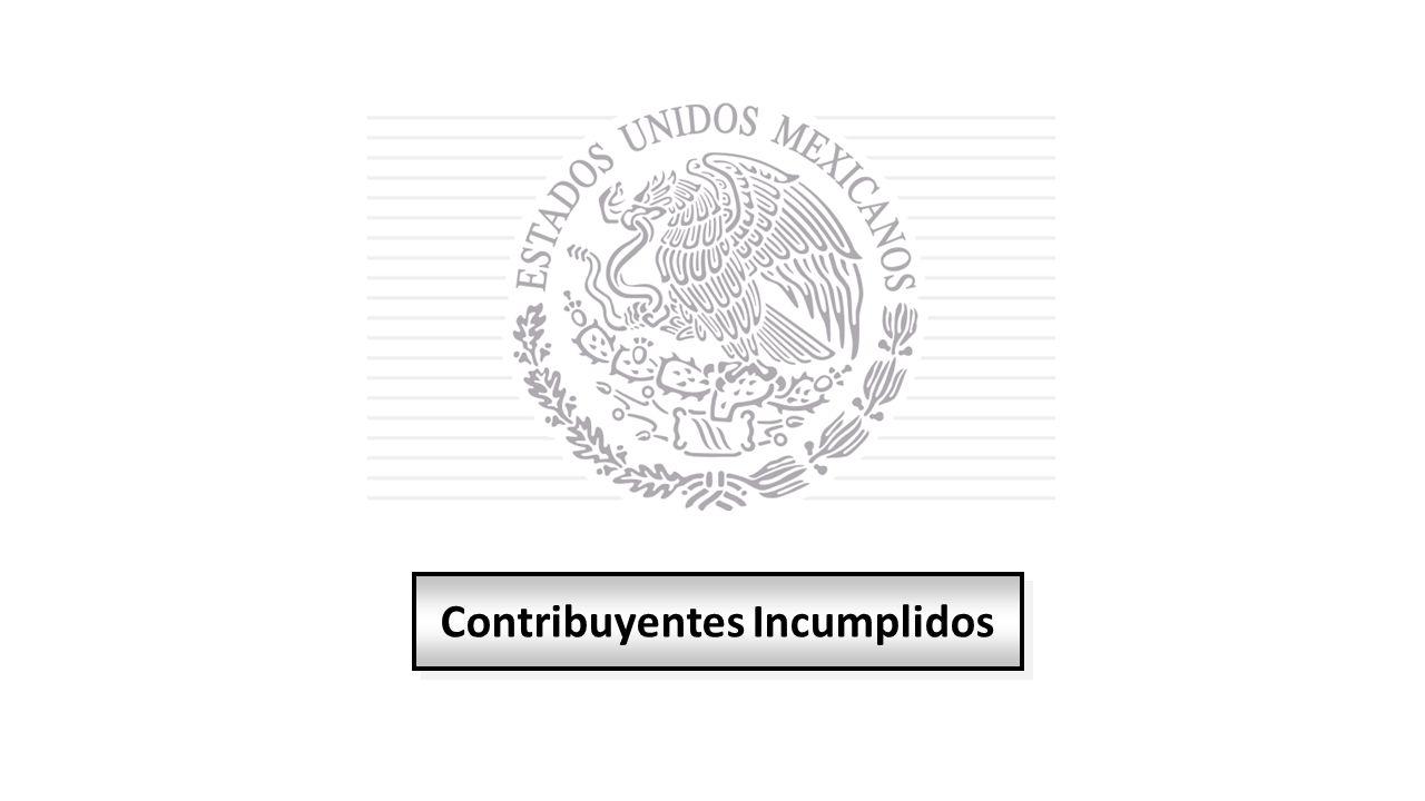 Contribuyentes Incumplidos