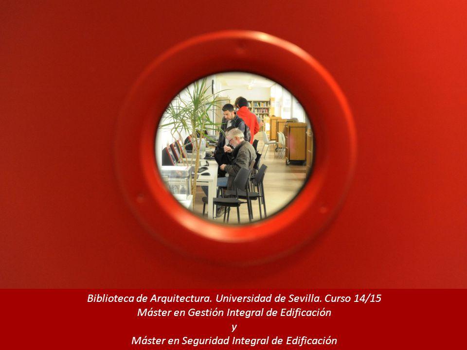 Biblioteca de Arquitectura. Universidad de Sevilla.