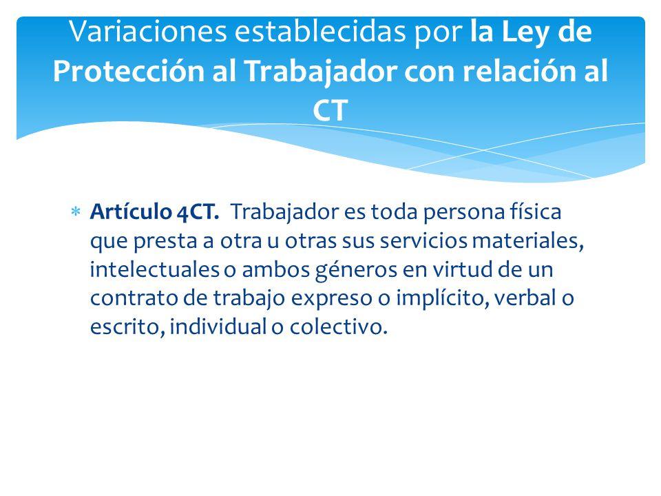  Artículo 4CT.