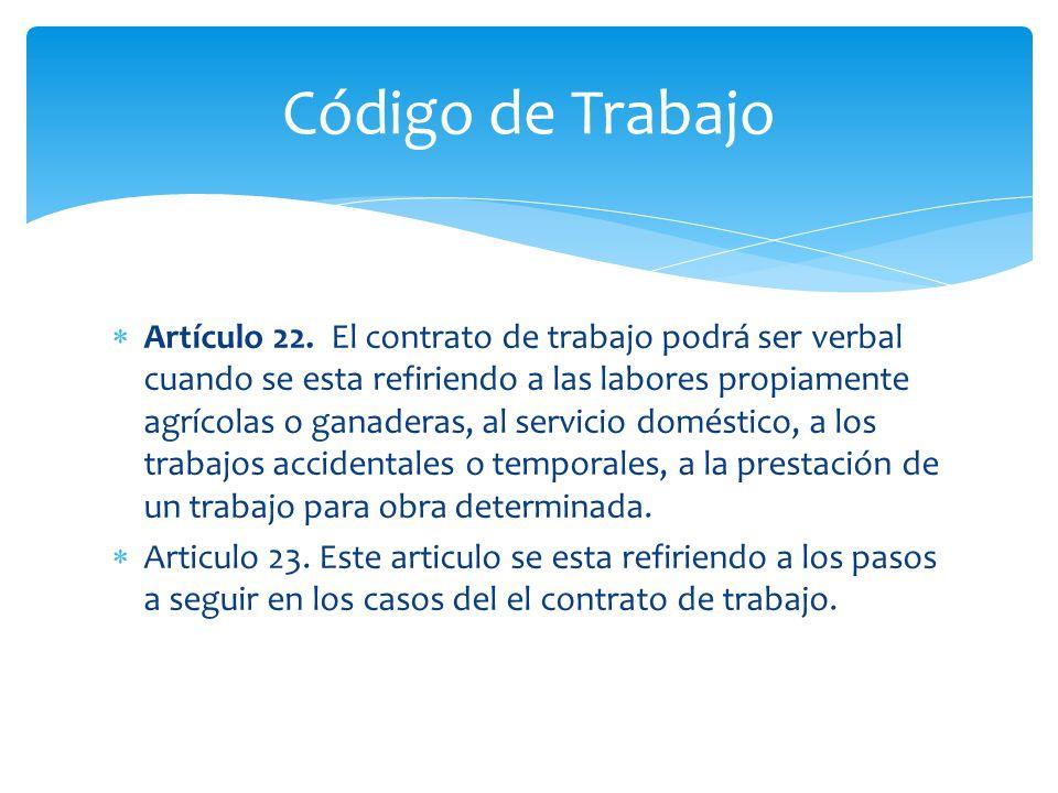  Artículo 22.