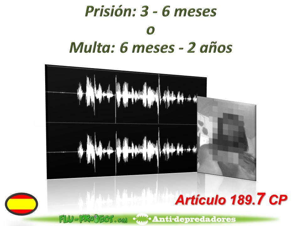 Artículo 189. 7 CP