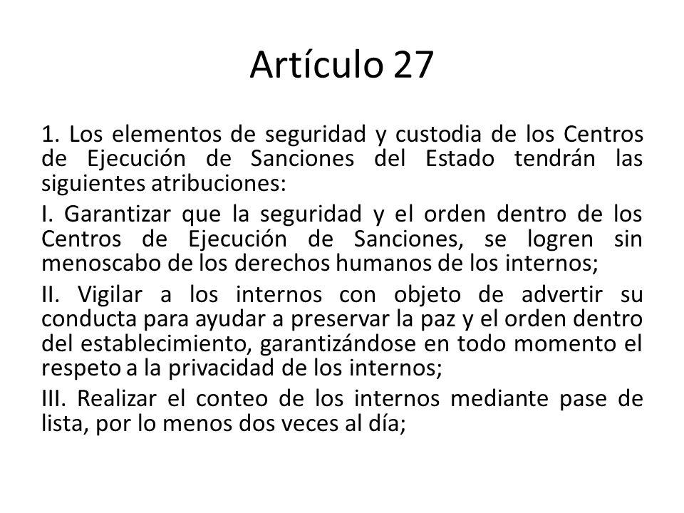 Artículo 27 1.