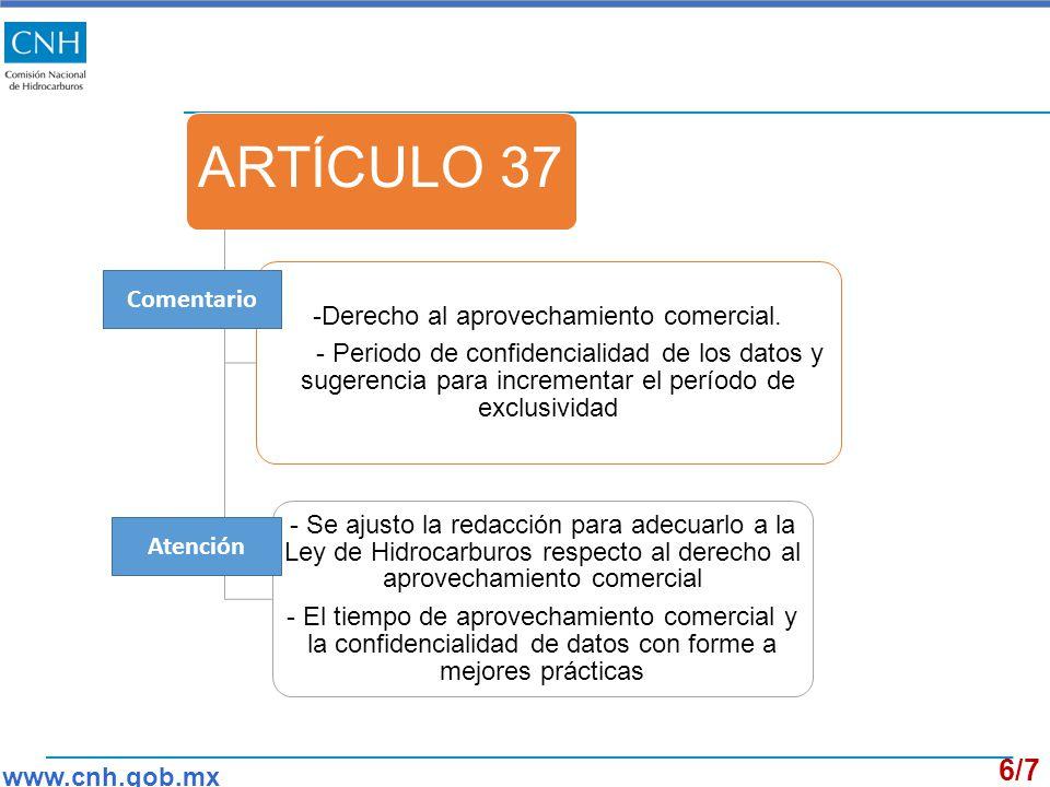 ARTÍCULO 37 -Derecho al aprovechamiento comercial.