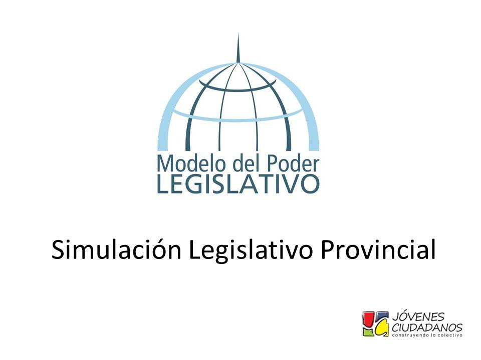 Simulación Legislativo Provincial
