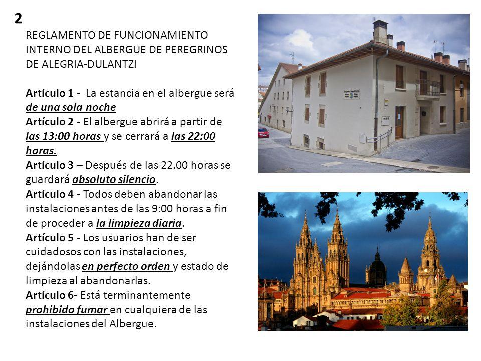 Alegría-Dulantzi cuenta con un nuevo albergue de Peregrinos del Camino de Santiago.