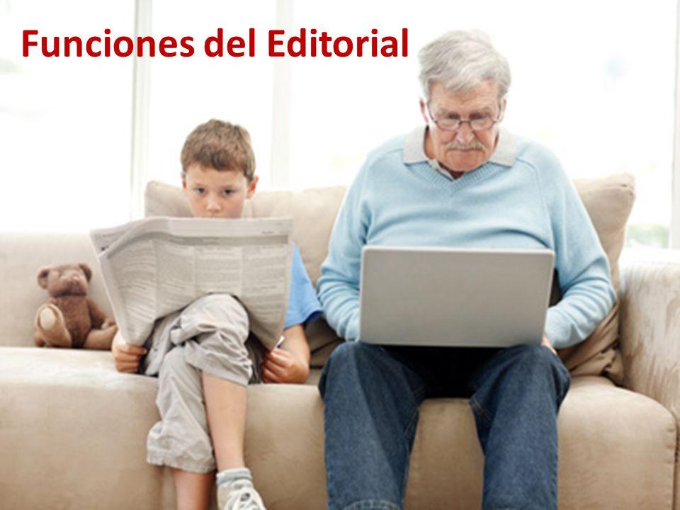 Funciones del Editorial