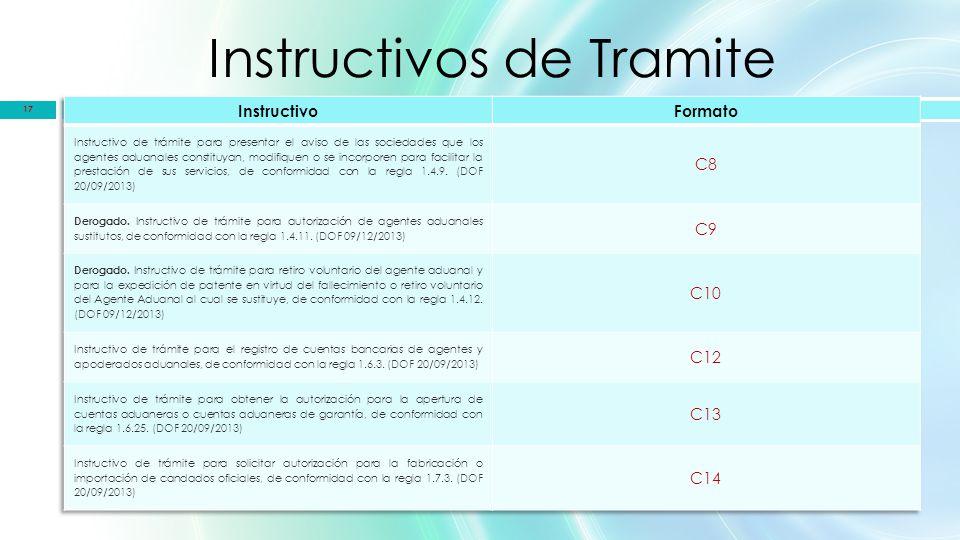Instructivos de Tramite 17